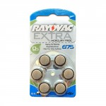 Rayovac Battery (Size 675) Mercury Free